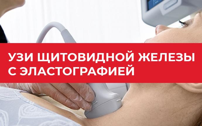 УЗИ щитовидной железы с эластографией